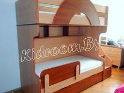 Двухъярусная детская кровать на заказ Минск, Гомель, Брест