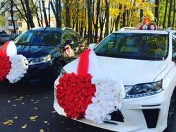 Джипы Lexus в Свадебный кортеж, пассажирские перевозки