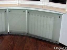Экран стеклянный для радиаторов - фото 2