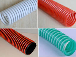 Экструзионная линия для производства спиральных гофрированных труб из ПВХ (диаметр 16мм)