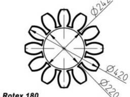 Эластичный элемент rotex 180 Spider 64 Sh-D