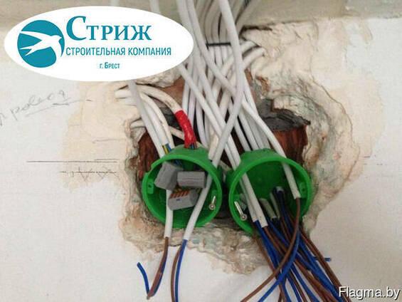 Электрик в Бресте. Электромонтажные работы.