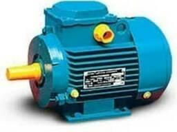 Электродвигатель однофазный 220 В 2,2/3000 лапы