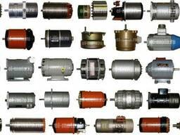Электродвигатели, сельсины, вращающиеся трансформаторы тахог