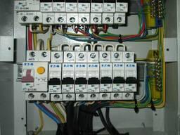 Электромонтаж, сборка и установка распределительных щитов