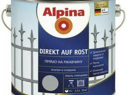 Эмаль алкидная Alpina Direkt auf Rost