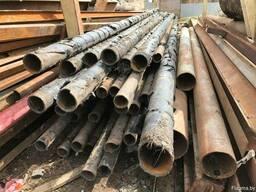 Трубы 57, 76, 89, 219, 325, 426, 530 металл б/у демонтаж