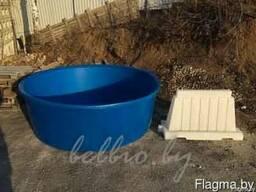 Емкость для развода, засолки рыбы 3000 литров