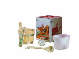 EOS Sauna Set (набор принадлежностей) для сауны и бани.