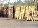 Поддоны деревянные бу, европаллет. - фото 1