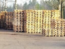 Поддоны деревянные бу, европаллет.