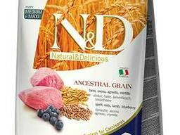 Farmina Namp;D LOW Grain — низкозерновой корм для щенков средних и крупных пород. ..