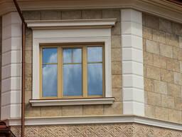 Фасадная лепнина, фасадный декор (армированное покрытие или без него)