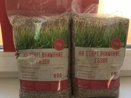 Фасовка семян газонных трав и сидератов