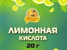 Лимонная кислота, пищевые добавки. Фасовка. Услуга