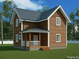 Финские Каркасные дома с фундаментом в подарок