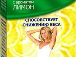 """Фиточай """"Грин Слим Ти"""" с ароматом Лимона, 30 ф/п по 2 г для снижения веса"""