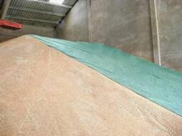 Флис для укрытия зерна. Технология TopTex