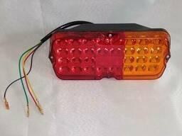 Фонарь задний Правый УАЗ 12V LED светодиодный c проводом, легковой-прицеп