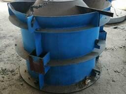 Форма для изготовления железобетонных колец