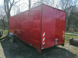 Фургон мебельный 7,20х2,55х2,65