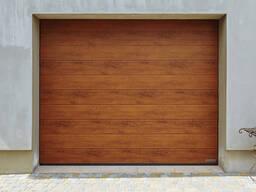 Гаражные секционные ворота - фото 2