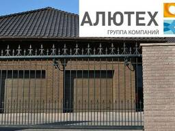 Гаражные секционные ворота Alutech Trend филенка 3000*2500