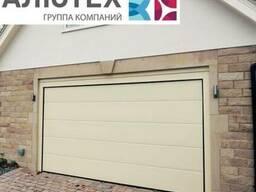 Гаражные секционные ворота Alutech Trend L-гофр 5000*2300