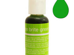 Гелевый краситель Chefmaster Liqua-Gel Neon Brite Green. ..
