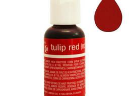 Гелевый краситель Chefmaster Liqua-Gel Tulip red 21 гр.