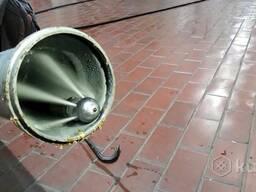 Гидродинамическая промывка канализации