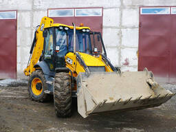 Экскаватор-погрузчик JCB 3CX SUPER. Гидромолот, Гидробур