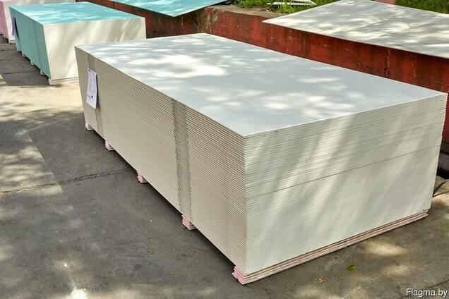 Гипсокартон потолочный Knauf Кнауф 2500х1200х9.5 для дома