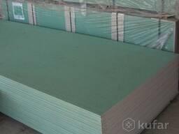 Гипсокартон потолочный влагостойкий Knauf 2500x1200x9, 5 мм