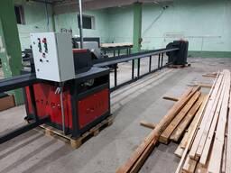Горбыльный станок для переработки древесины (горбыля)