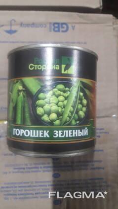 Горошек консервированный 400 гр. ж\б Родная сторона