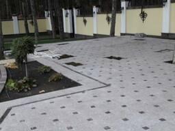 Тротуарная плитка из гранита, Украина