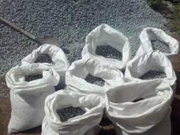 Гранитный щебень фасованный в мешки