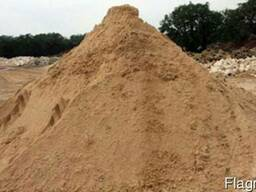 Гравий. песок речной