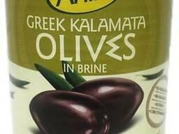Греческие оливки Каламата с косточкой т. м. ANIRA