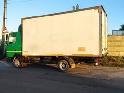 Грузоперевозки до 5 тонн изотермическим фургоном