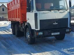 Грузоперевозки самосвалом МАЗ 5516