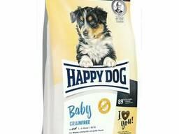 Happy Dog Baby Grainfree - корм для щенков средних и крупных пород до 6 мес. птица. ..