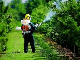 Химическакя обработка участков, растений и деревьев от вредителей, болезней и др.