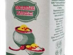 Хлопья овсяные Новобелица 0,5кг
