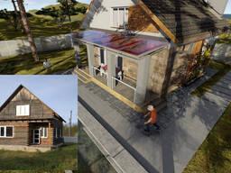 Htrjycnherwbz реконструкция деревянных домов (изменение фасада, плана) заказать проект