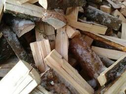 Хвойные дрова колотые