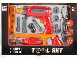 """Игровой набор """"Инструменты"""" 13 предметов."""