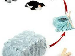 Игрушка пингвин (раскопай его)