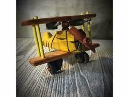 Игрушка Самолет деревянный